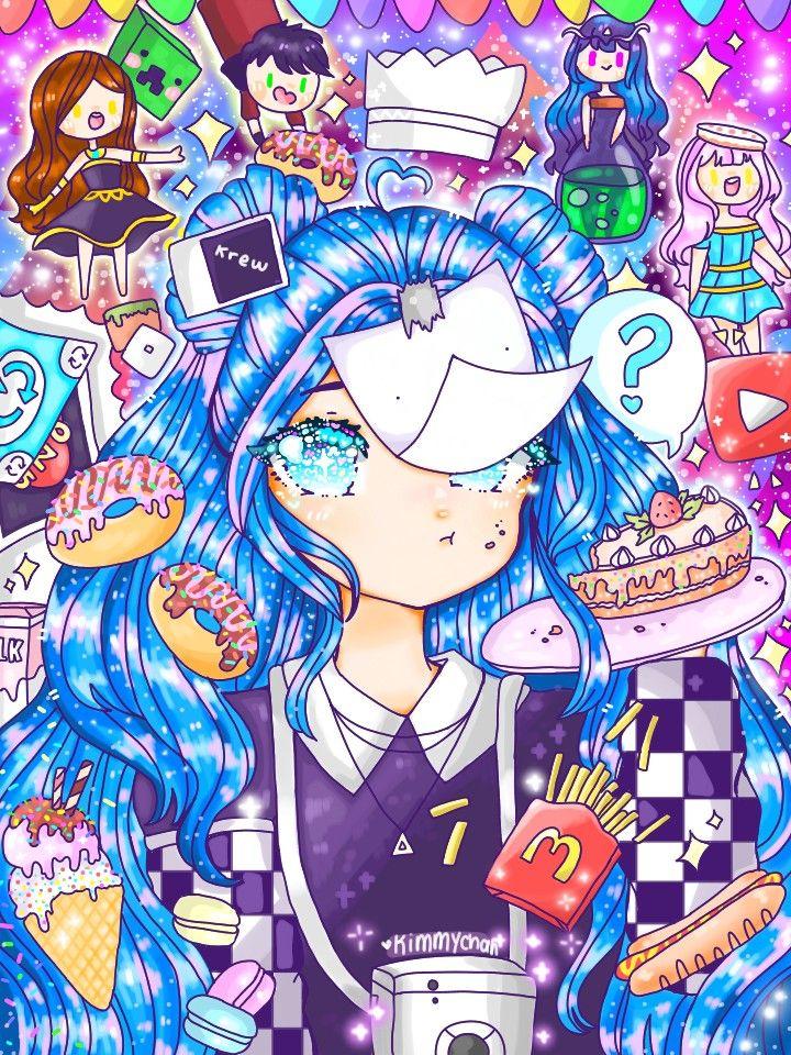 Fanart to itsfunneh and krew! in 2020 Fan art, Anime, Artist
