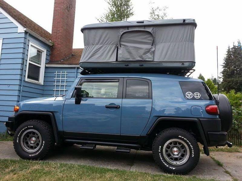 FJ cruiser james baroud usa & FJ cruiser james baroud usa | Rooftop Tent/Living Combo ...