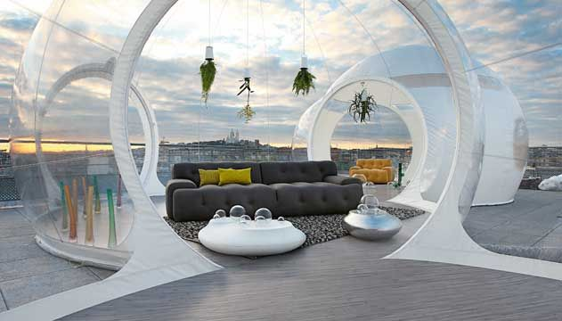 Blogger Large 3 Seat Sofa By Roche Bobois Modern Patio Furniture