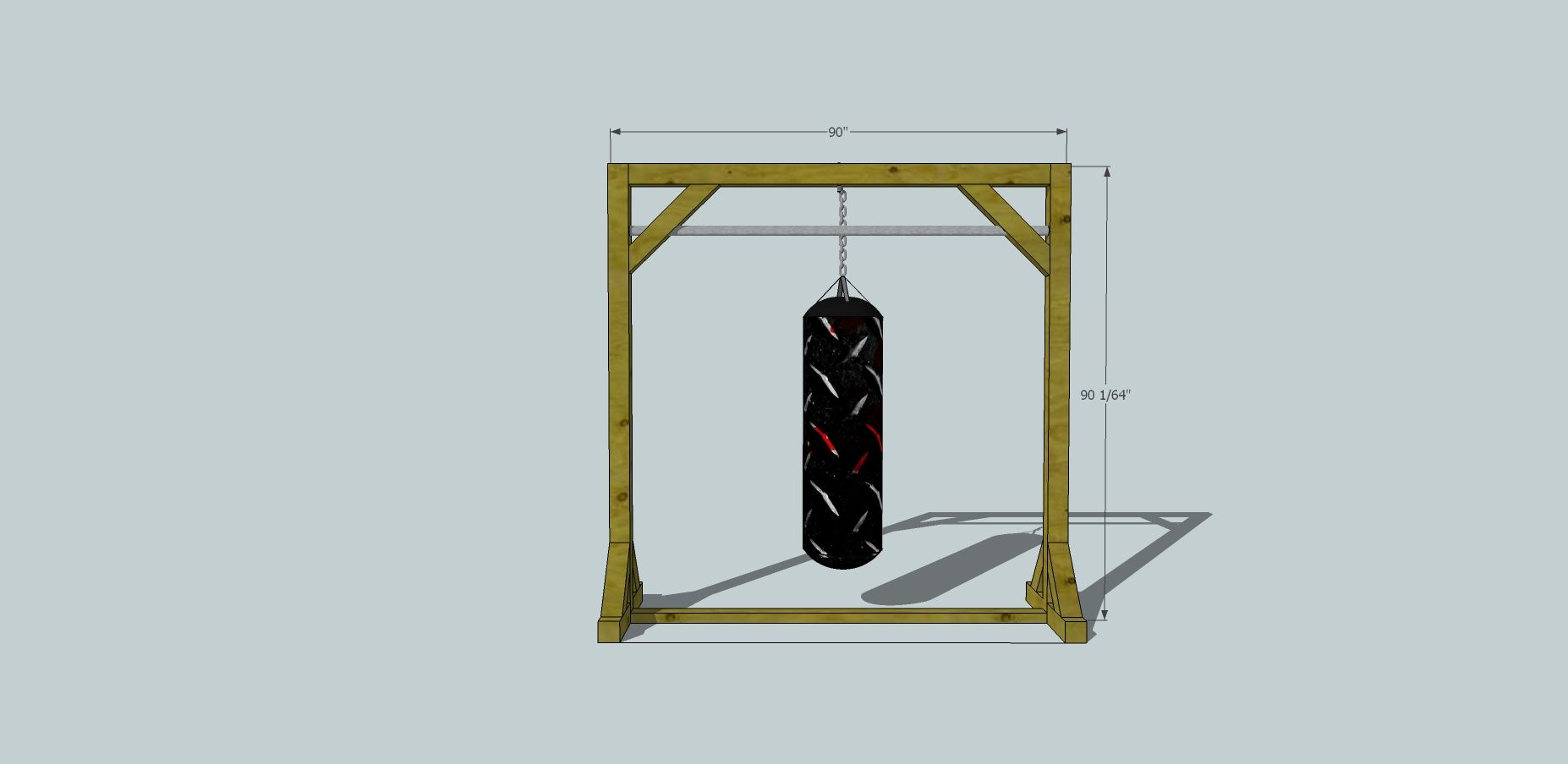 diy punching bag stand - Bing Images