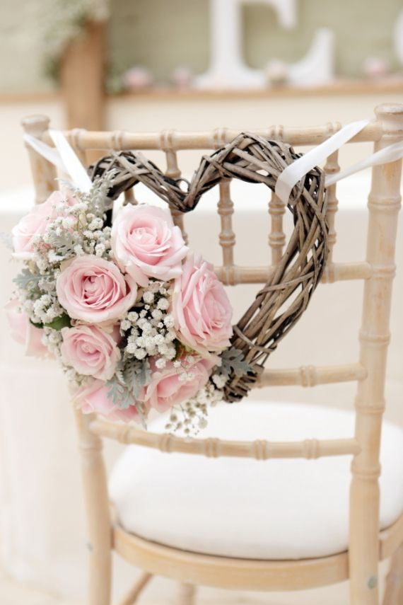 21 Heart Wedding Theme Ideas That Aren T Totally Lame Diy Wedding Decorations Wedding Chair Decorations Pink Wedding