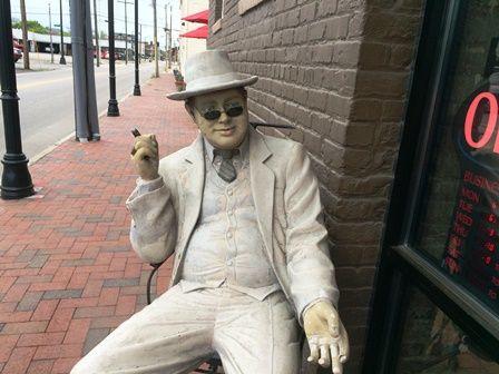 My abiding friend outside Demolition Coffee in Petersburg Virginia. | Petersburg virginia ...