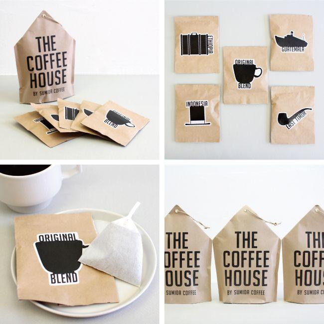楽天市場 Sumida Coffee すみだ珈琲 The Coffee House コーヒーパック Cdc General Store ウェディング プチギフト パッケージデザイン からすみ