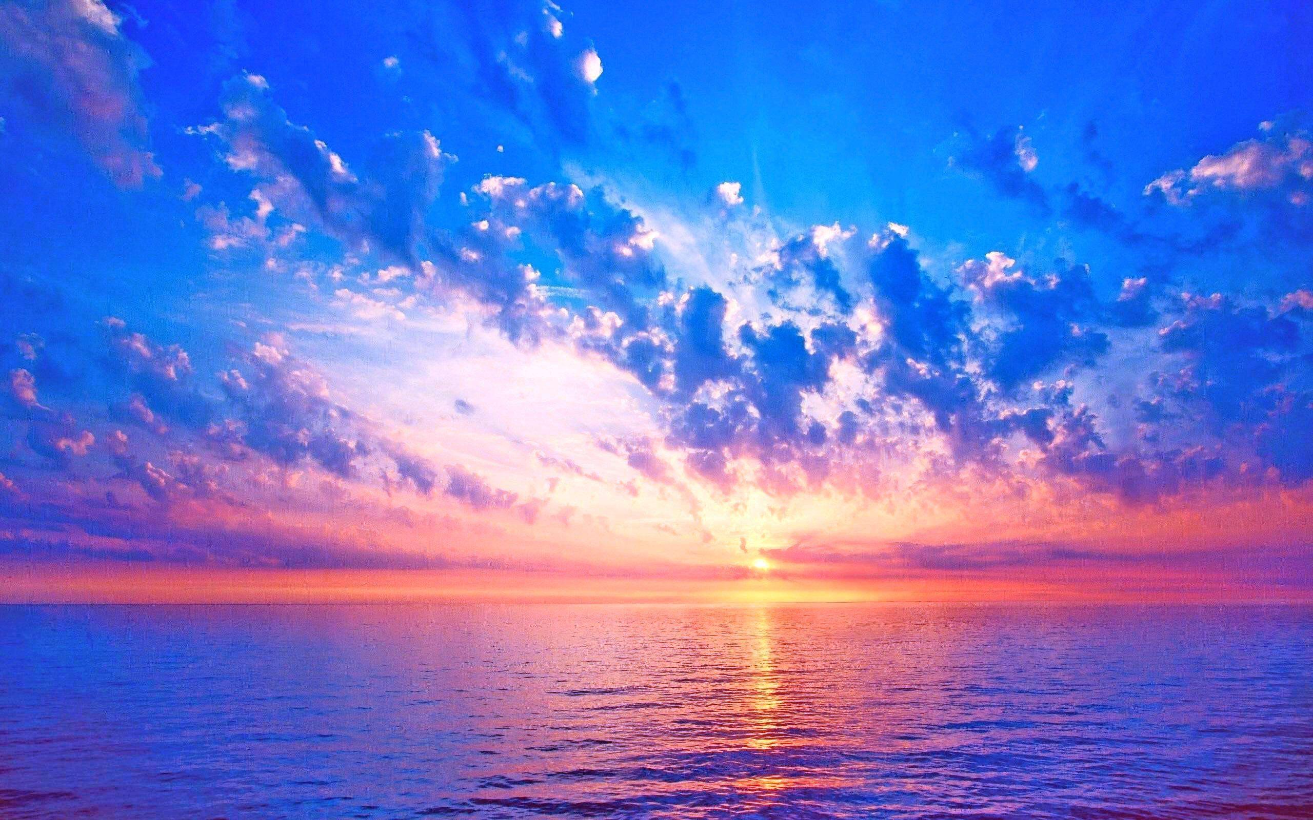 Beach Sunset Image Dekstop Best Hd Wallp Sunrise Pictures Sunrise Wallpaper Blue Sky Wallpaper Hd wallpaper sea sunset clouds sky
