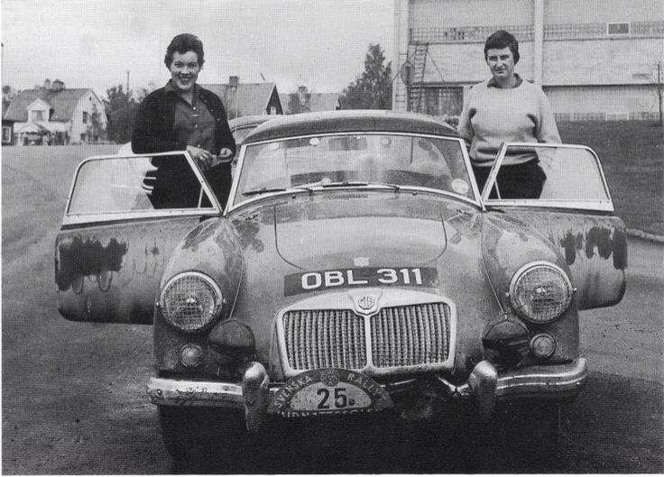 Pat Moss. Rally A.