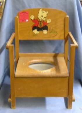 585 1950s Vintage Baby High Chair W Decals Oct 14 2007