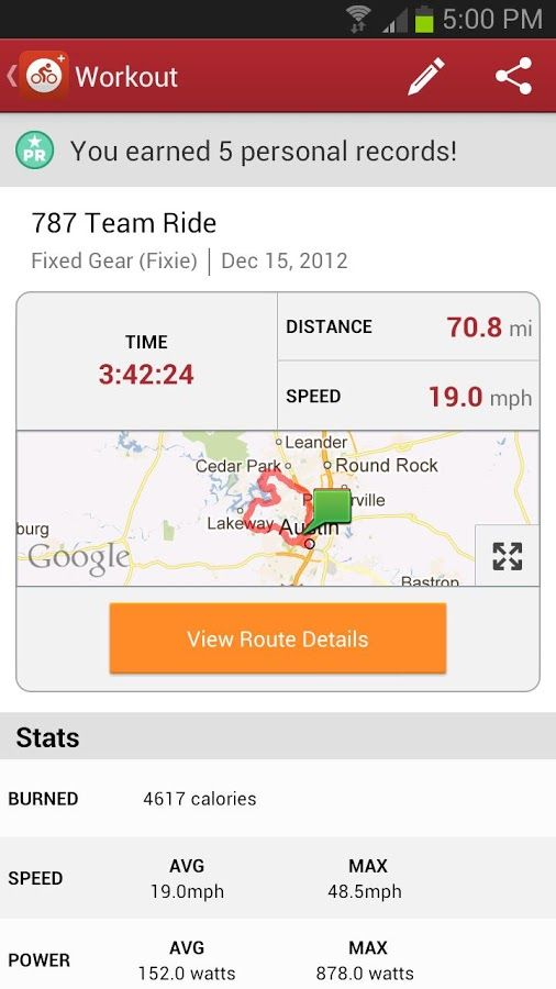Mymapride Gps Cycling Android App A Fitness Tracking