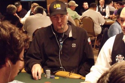 Phil Helmuth - 13 time WSOP champion. The best there ever will be.