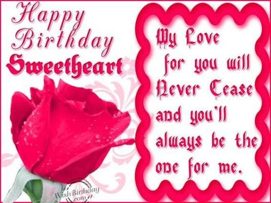 My Love Happy Birthday Pics For Sweetheart Lover My Girlfriend Já