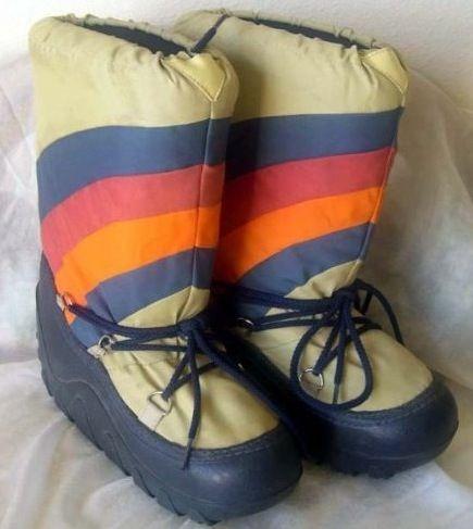Moon Boots...i think i had 'em. I think I remember