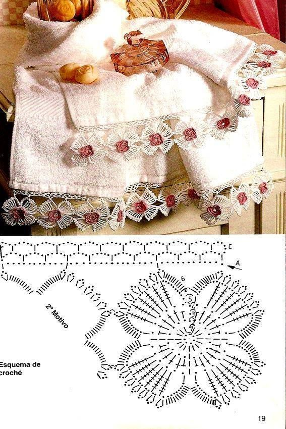 Pin de Nuray en Dantel   Pinterest   Crochet patrones, Patrón gratis ...