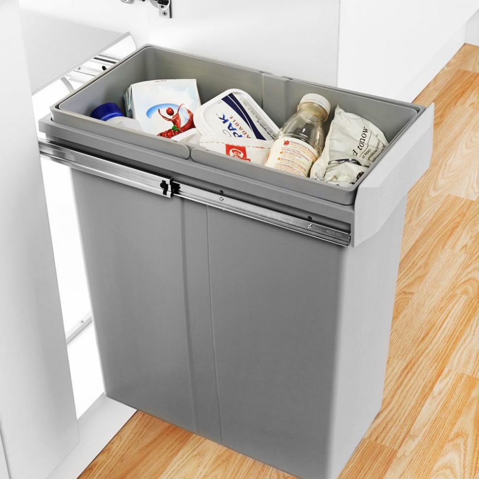 Uncategorized Kitchen Cabinet Recycle Bins this is the largest capacity single compartment bin system available on market for a kitchen cabinet huge 40 litre capacity