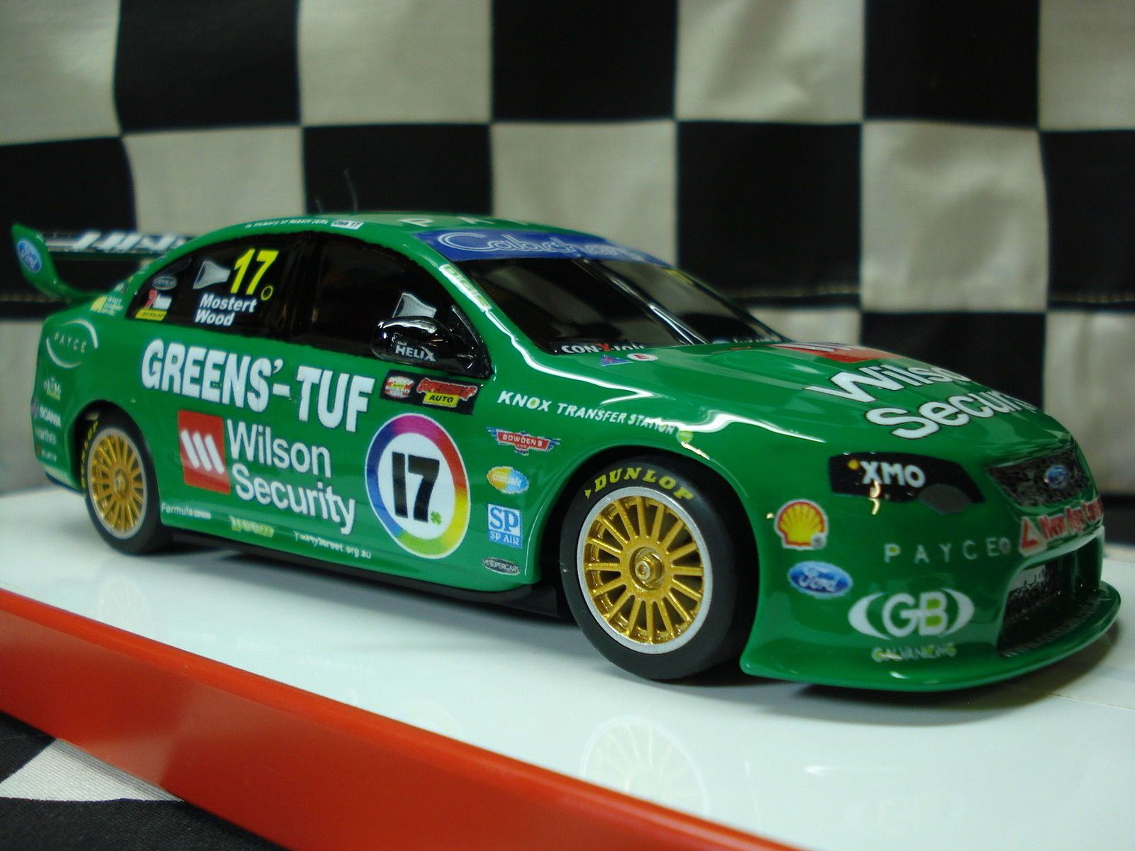 Scalextric 1 32 Ford V8 Supercar Custom Painted Super Cars 32 Ford Ford V8