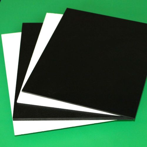 3mm 1 8 Sintra Pvc Foam Board Plastic Sheets You Pick Size Color Plastic Sheets Foam Board Foam