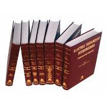 Livro Antigo Testamento Interpretado Capa Dura Referencia Com