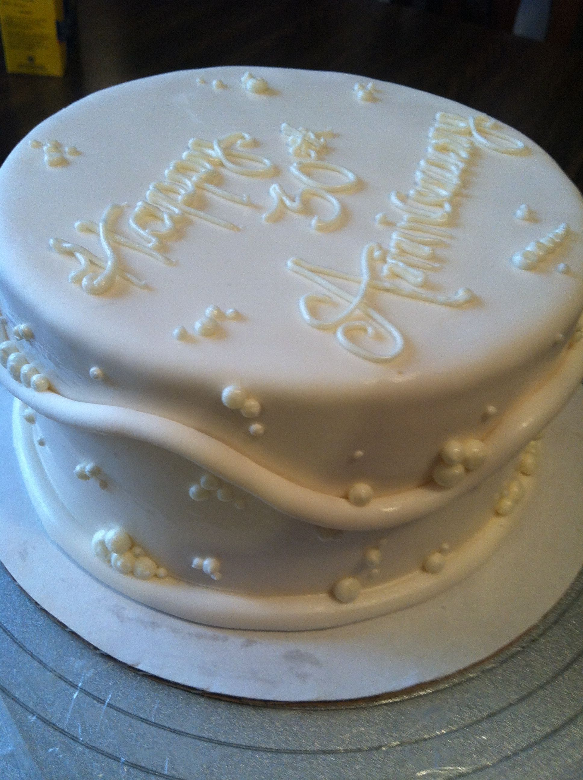 30th Anniversary Decorations 30th Wedding Anniversary Food Pinterest Wedding Cakes And