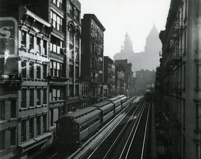 The El New York 1939 By Ruth Orkin Bike Trips Orkin Photo