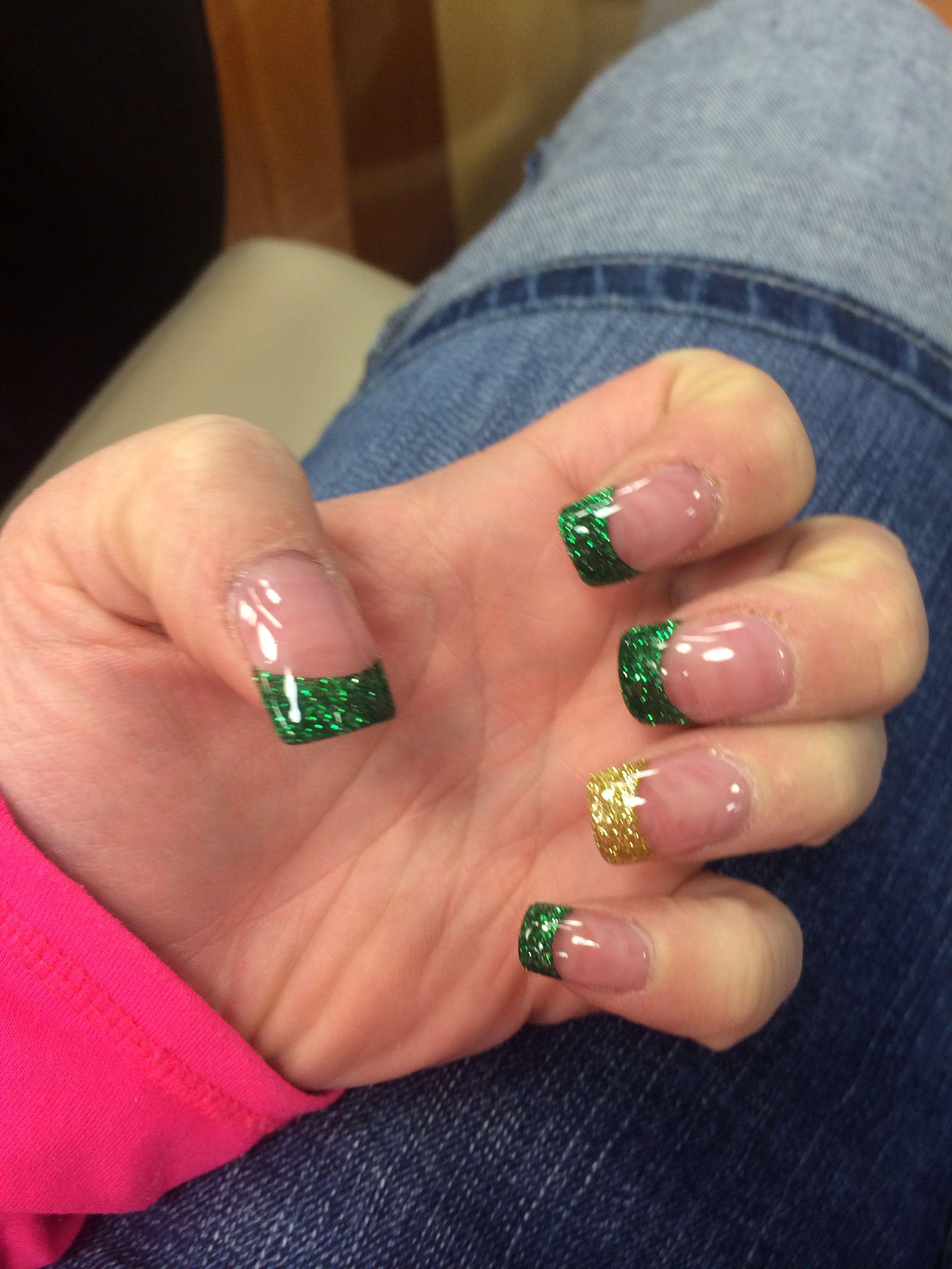 St. Patricks Day nails | St patricks day nails, St ...