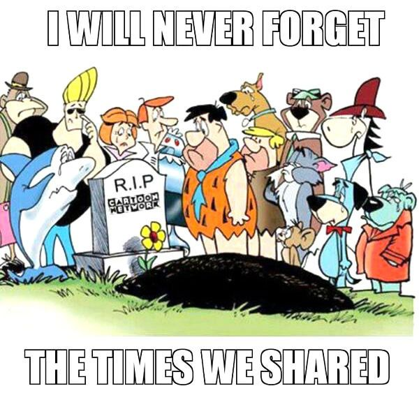 Rest In Peace Cartoon Network