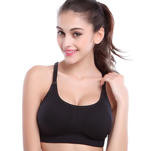 71f1e9c40c65c Cbeystock Women Crop Top Bra New Breathable Seamless Underwear Soft No  Bound Push Up Bras With Pads Brassiere