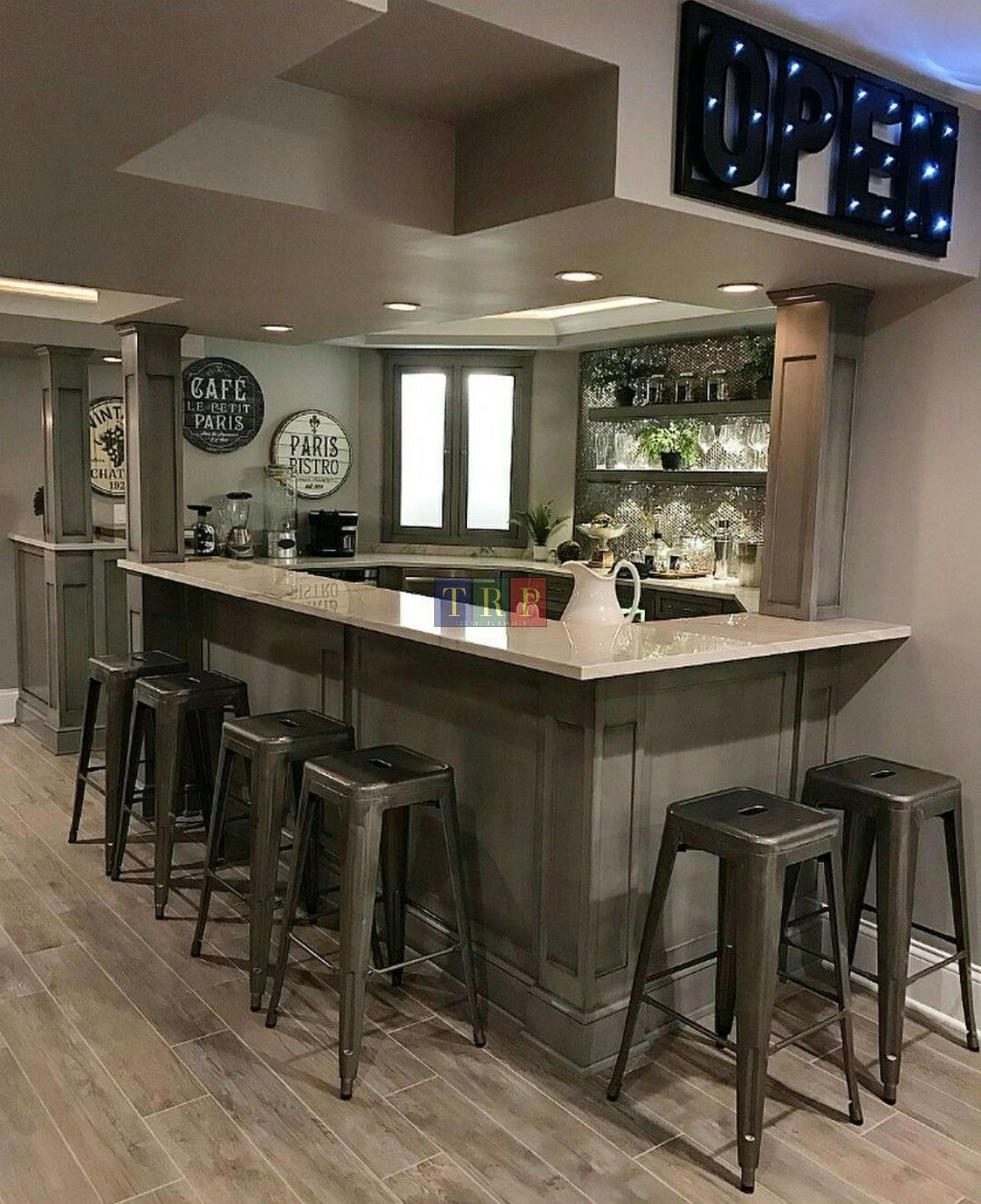 Smallspace Decor: 20+ Kitchen Basement Ideas (Basement Kitchenette Bar