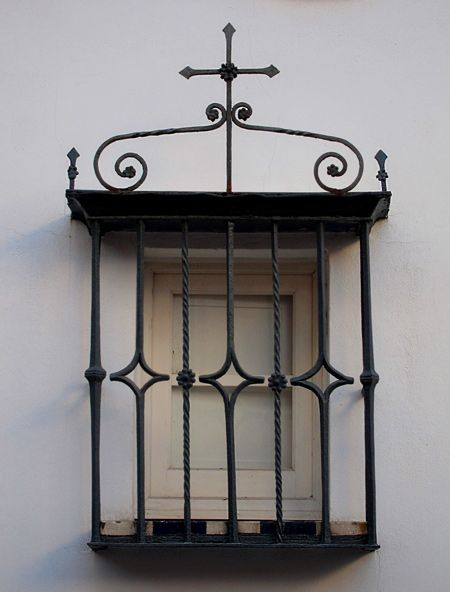 Spanish Wrought Iron Window Grills 10