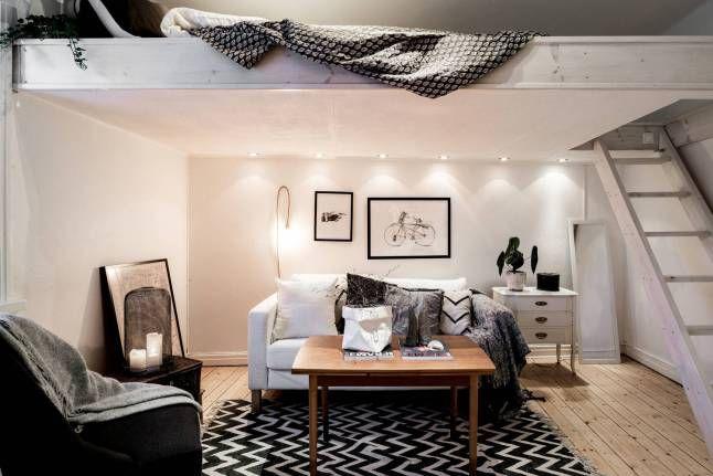 Bien au chaud dans un studio casa pinterest slaapkamer voor