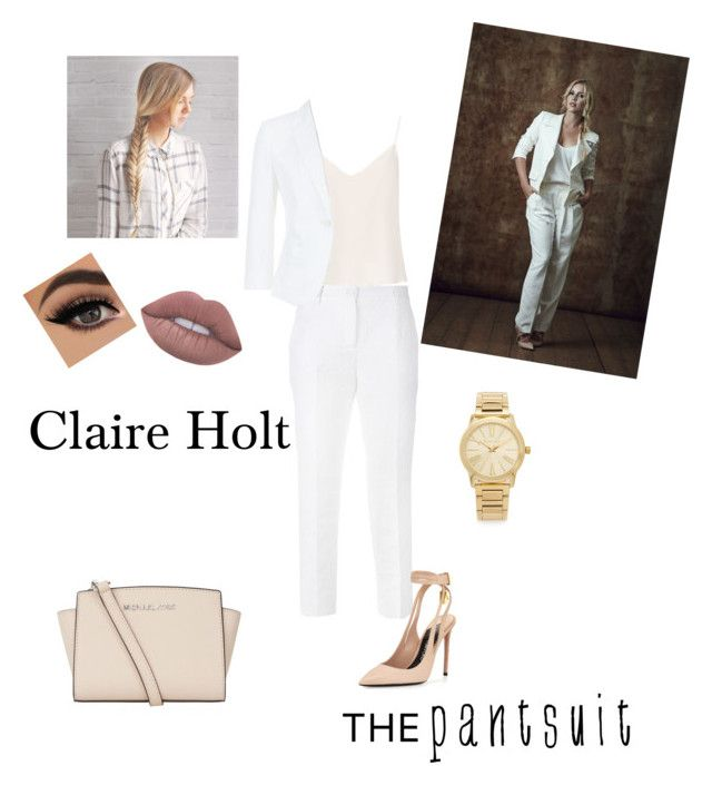 """""""Untitled #106"""" by shawnia-selinia-thomas ❤ liked on Polyvore featuring Dolce&Gabbana, Raey, MaxMara, Tom Ford, Lime Crime, MICHAEL Michael Kors, Michael Kors and thepantsuit"""