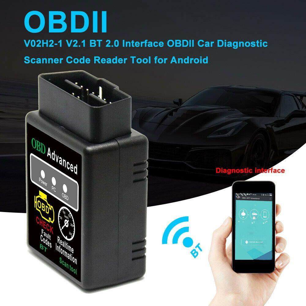 eBay Advertisement) OBDII V2 1 Bluetooth Car Scanner Android