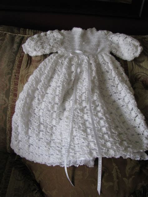 Crochet Christening Gown Patterns Free Images Knitting Patterns