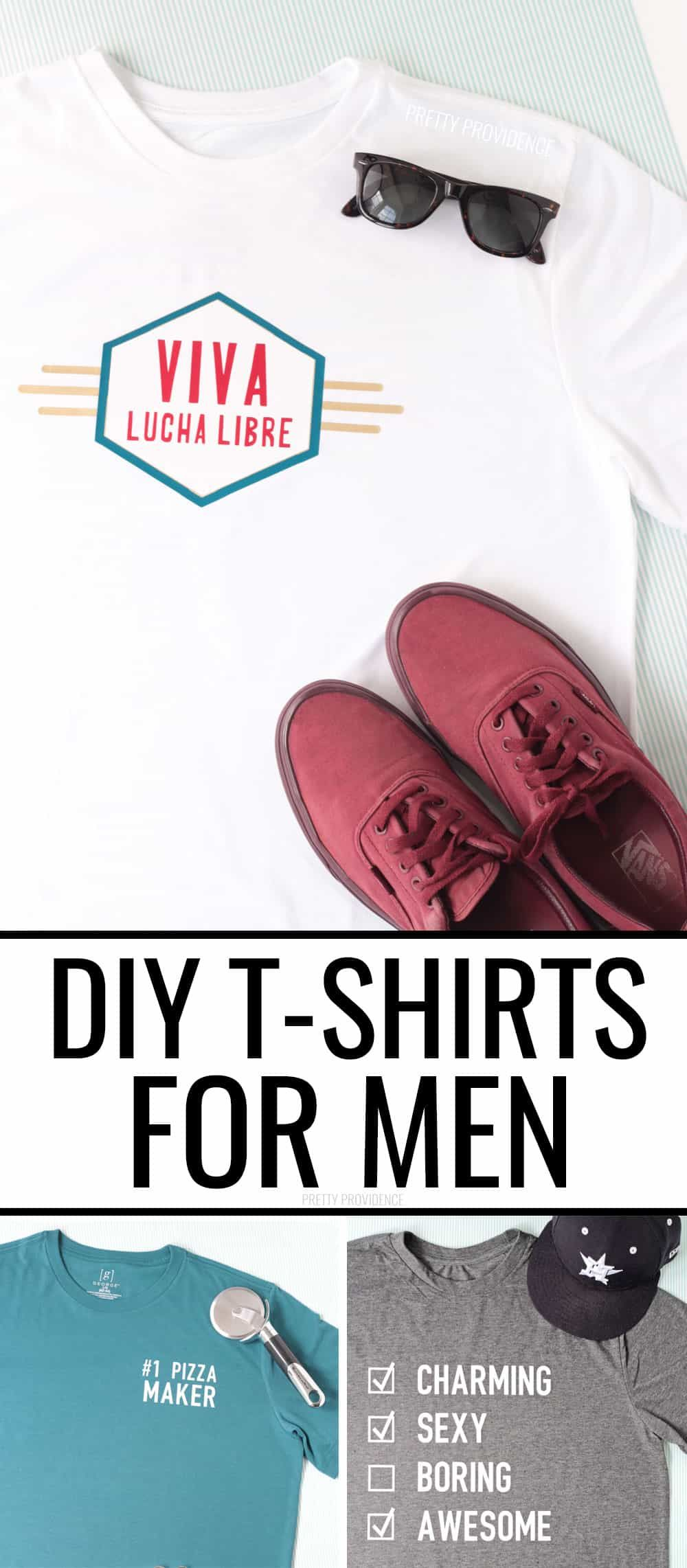 Diy T Shirts For Men Diy Gifts For Dad T Shirt Diy Diy Crafts