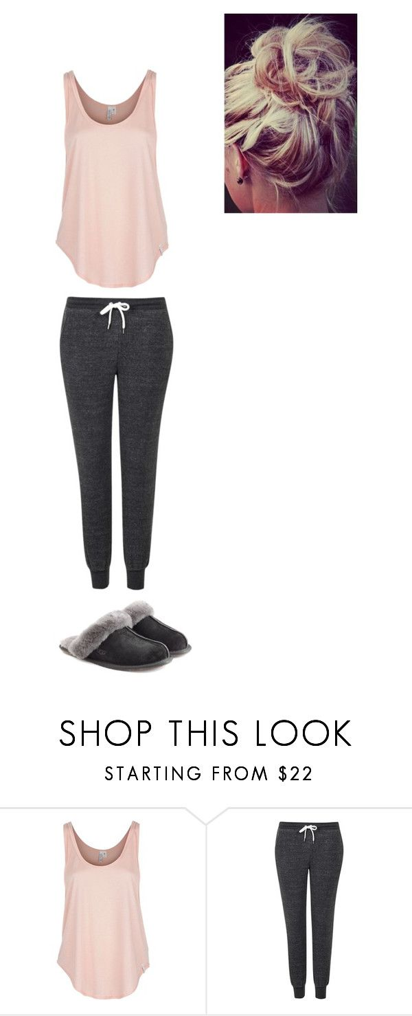 """""""Messy"""" by hazzalove420 on Polyvore featuring Rip Curl, Topshop and UGG Australia"""