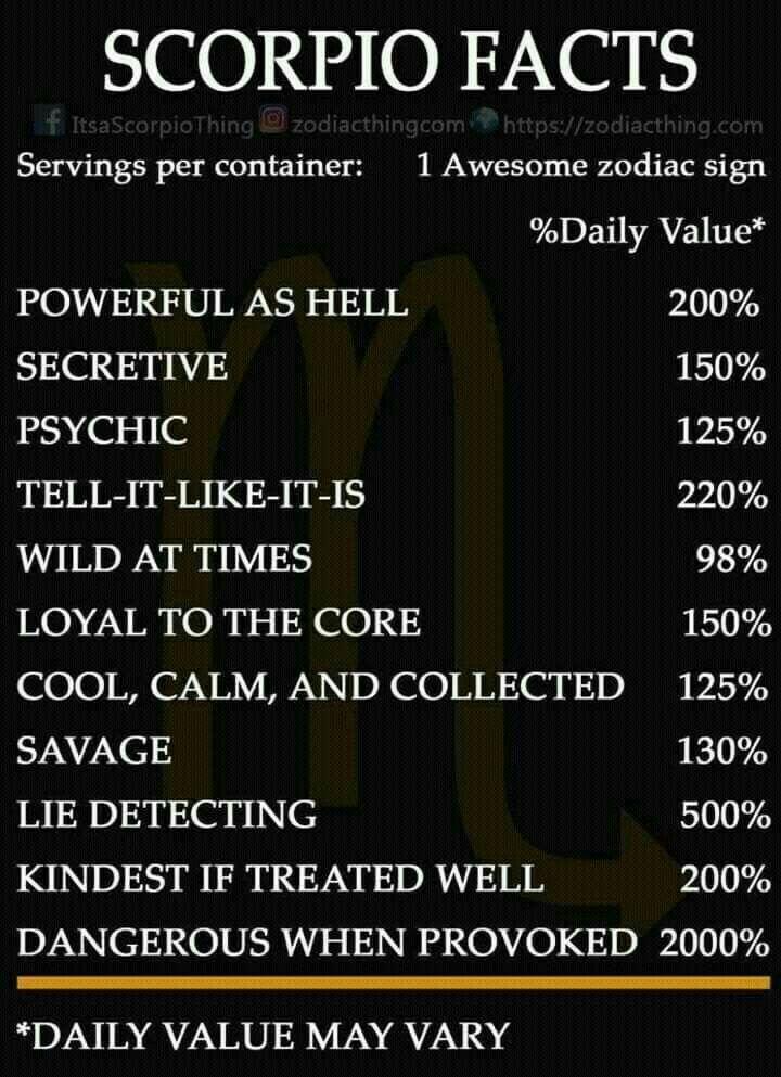 That's what I actually am | Scorpio-nic | Astrology scorpio, Scorpio