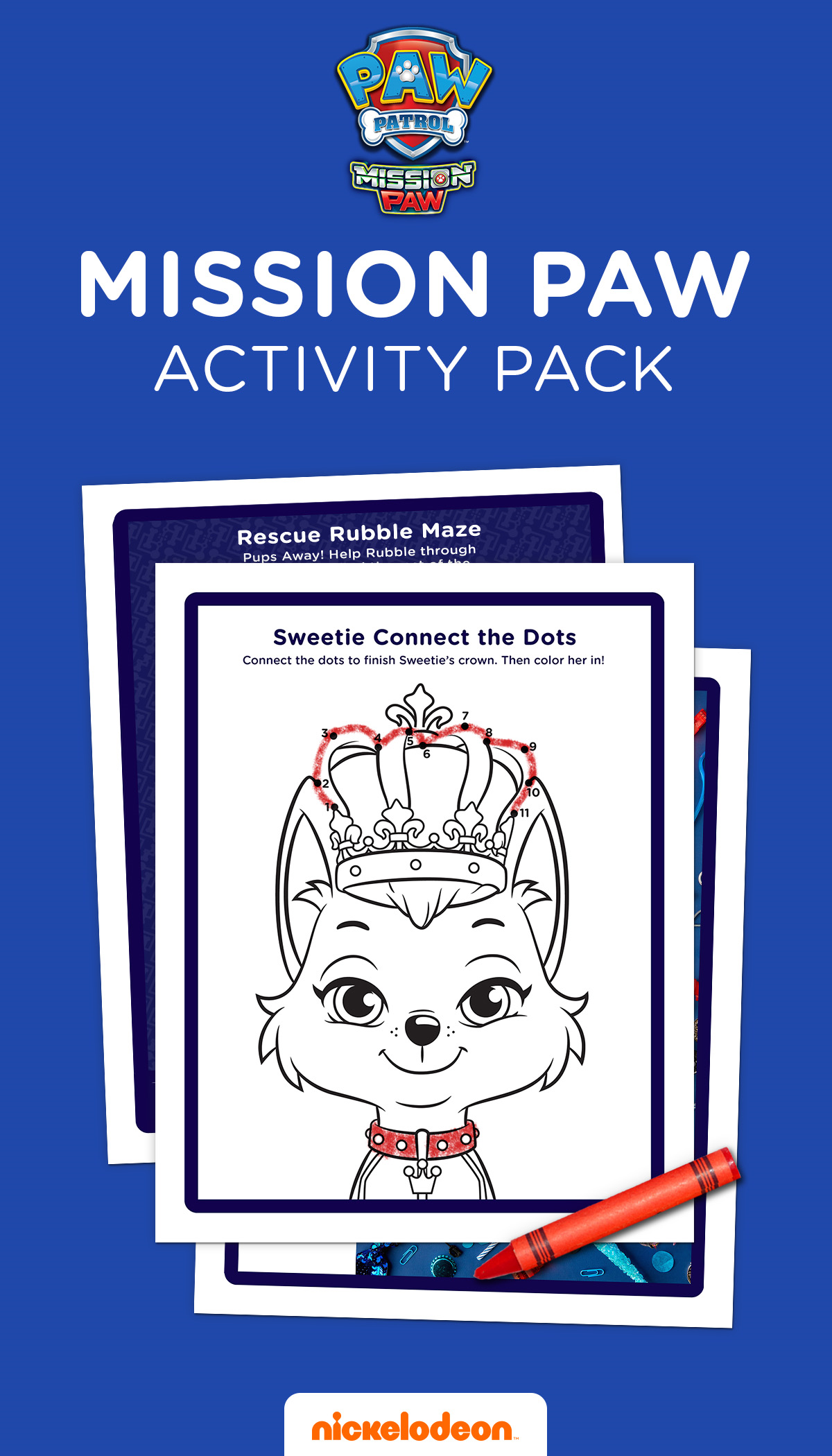 Mission Paw Activity Pack Maze Puzzles Paw Patrol And