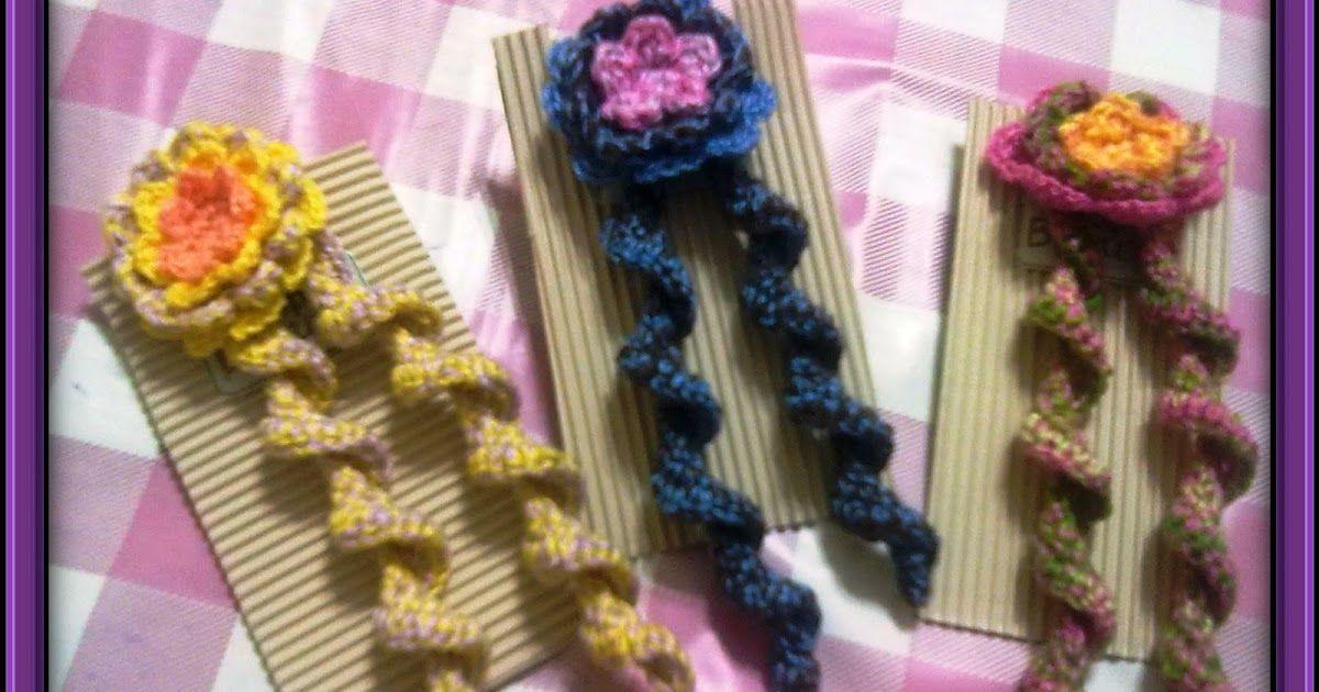 Hola Chicas Espero Que Hayan Pasado Unas Fiestas Hermosas Y Les Dese Pinzas Para El Cabello De Ganchillo Moño Tejido A Crochet Accesorios Para El Cabello
