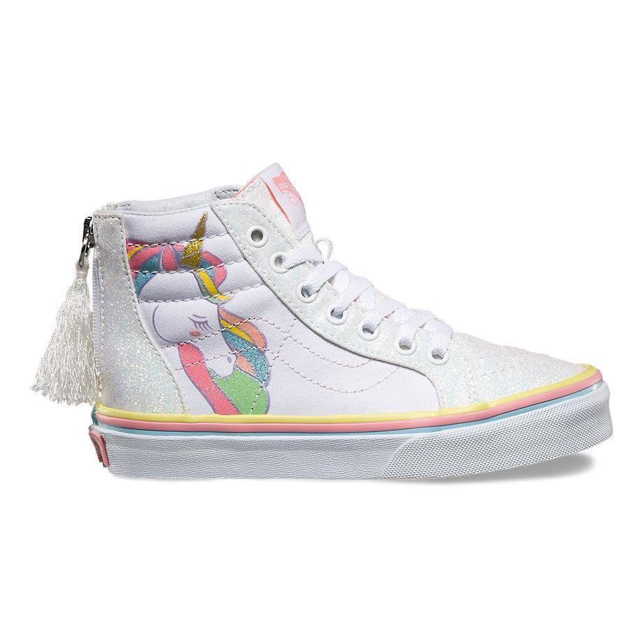 e399b9baa8 Vans Y SK8-HI ZIP(Unicorn)Rainbow