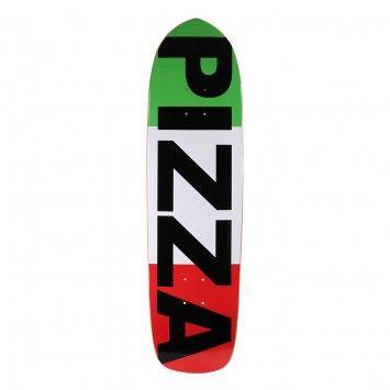 Pizza Skateboards Punk Point Flag Logo Skateboard Deck 8 6 Skateboarding Skateboard Decks Skateboard Cool Skateboards