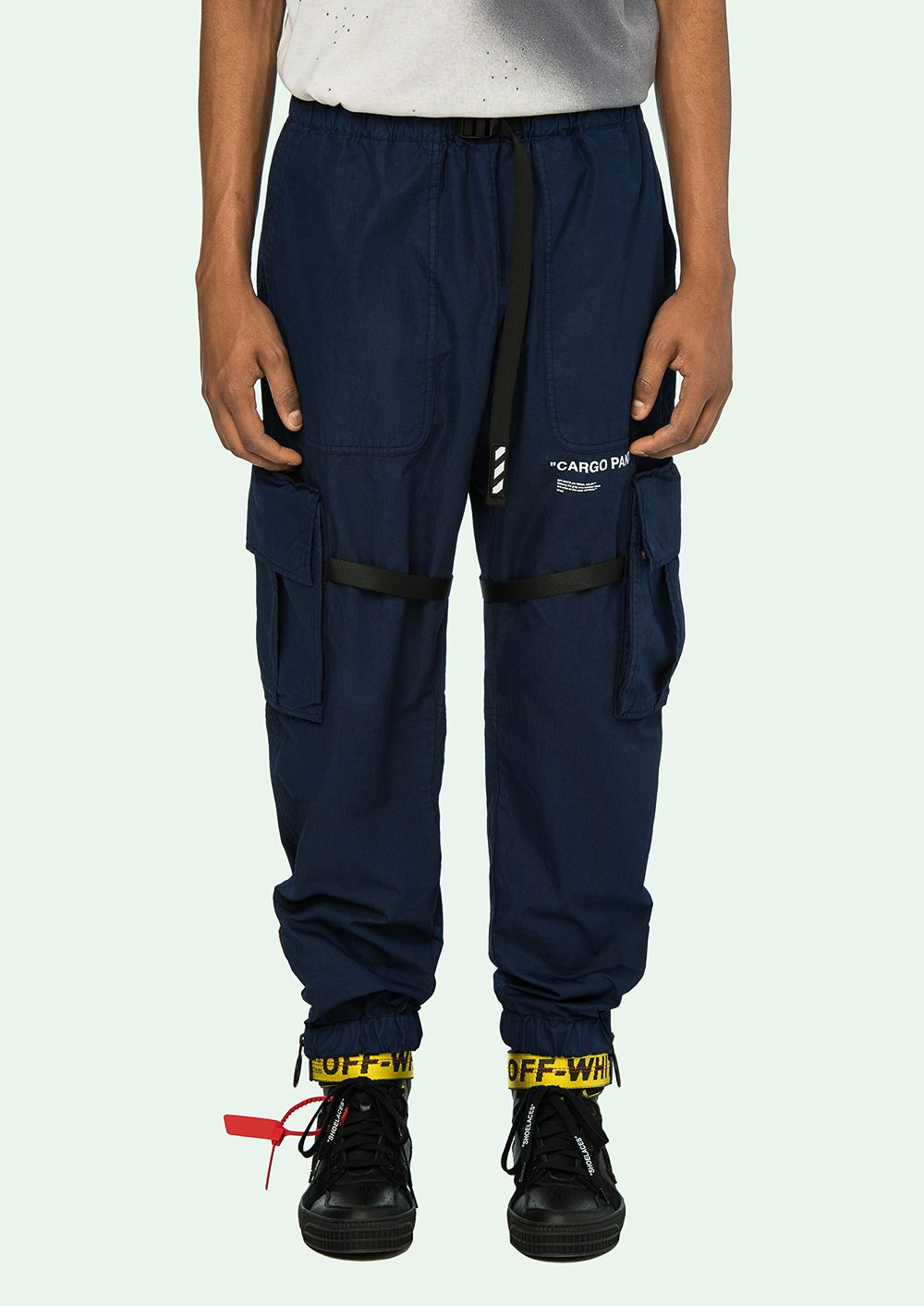 df5a12779192 OFF WHITE - Cargo Pants - OffWhite