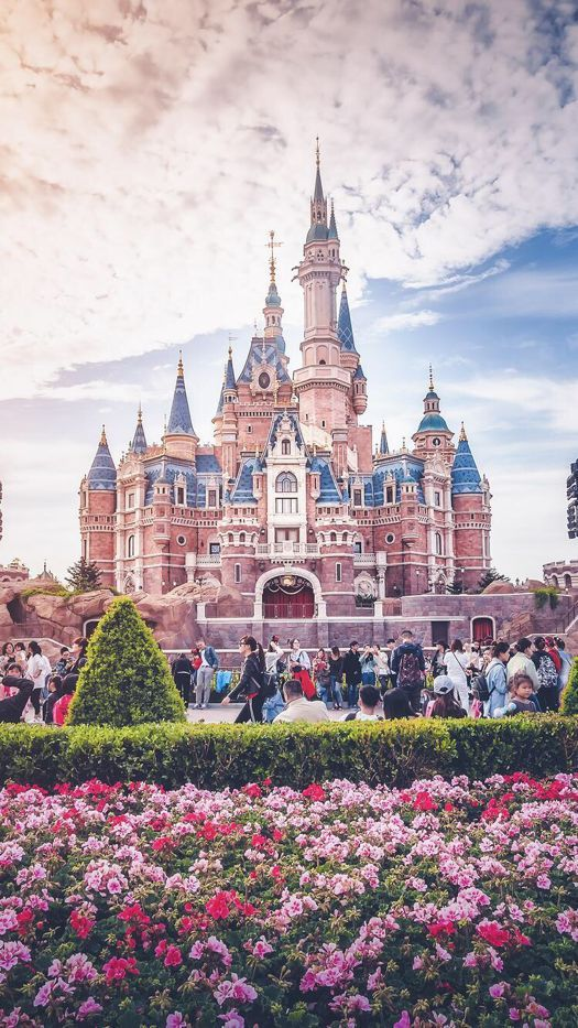 Disney Castle Wallpaper for iPhone and Android