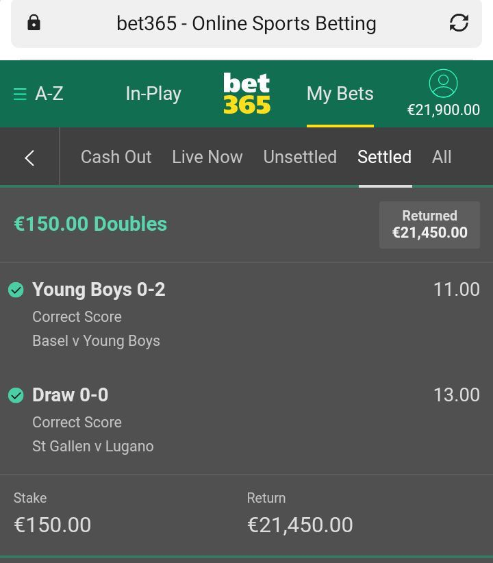 italian 365 betting