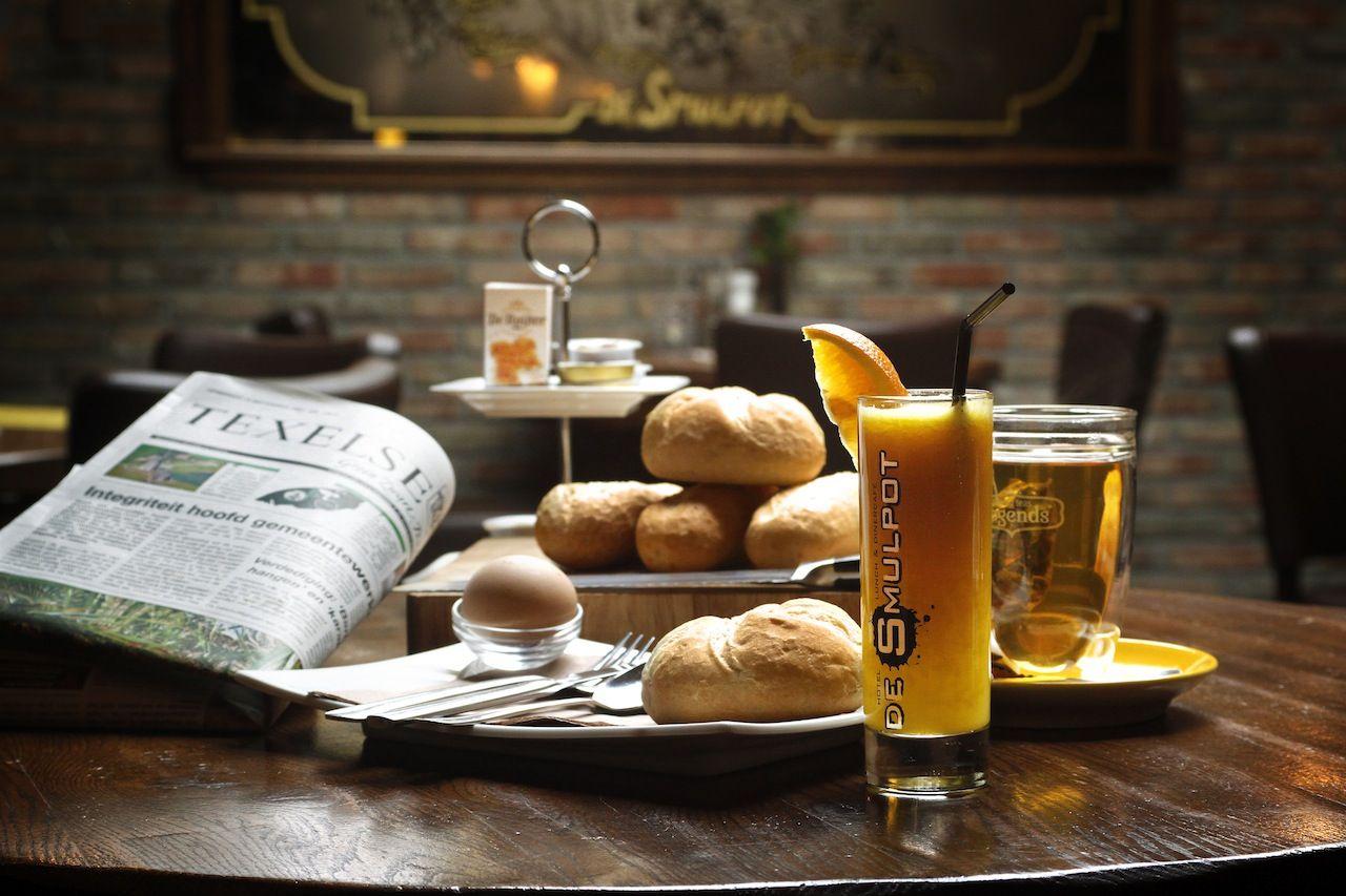 Ontbijt na een nachtje slapen in Boutique Hotel De Smulpot***