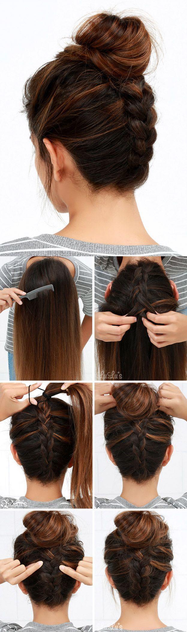 Pony hairstyles for medium length hair hair tutorials and