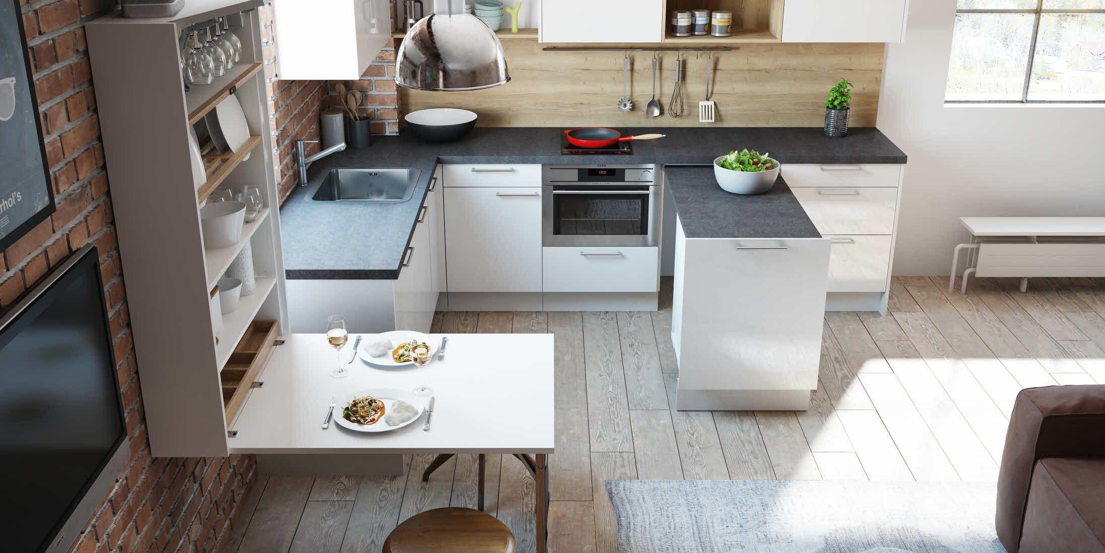 kleine küche optimal nutzen   jtleigh - hausgestaltung ideen