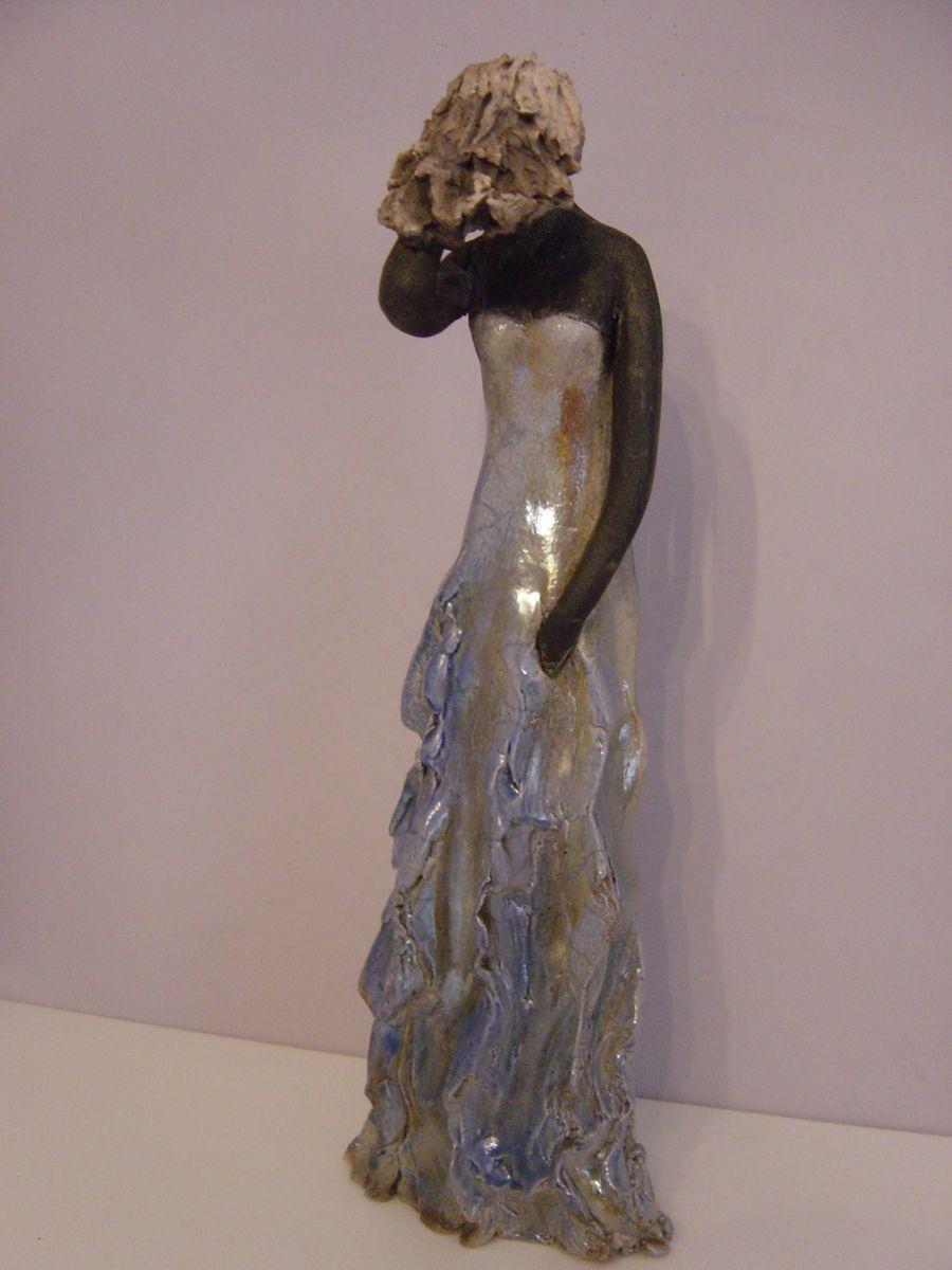 Hervorragend Orage - Sculpture, 10x36x12 cm ©2014 par Christine Lavoute  OI47