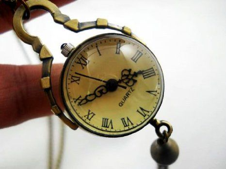 Vintage Style Glass Ball Steampunk Watch: Watches: Amazon.com
