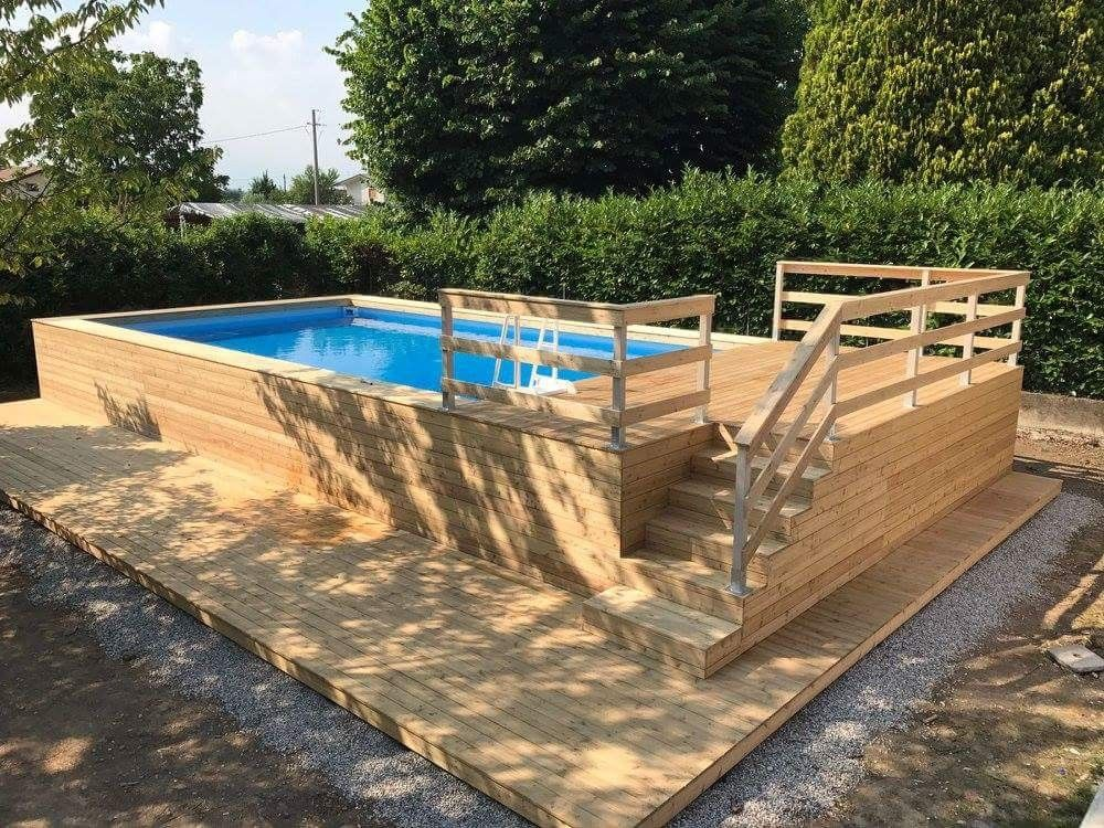 Alberca With Images Swimming Pools Backyard Diy Swimming Pool