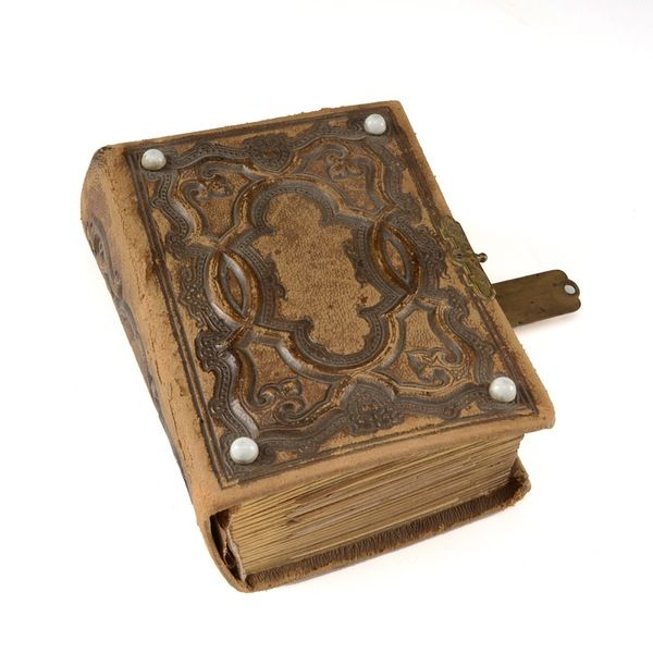 Antique Family Photo Album with Cabinet Cards and Tintypes