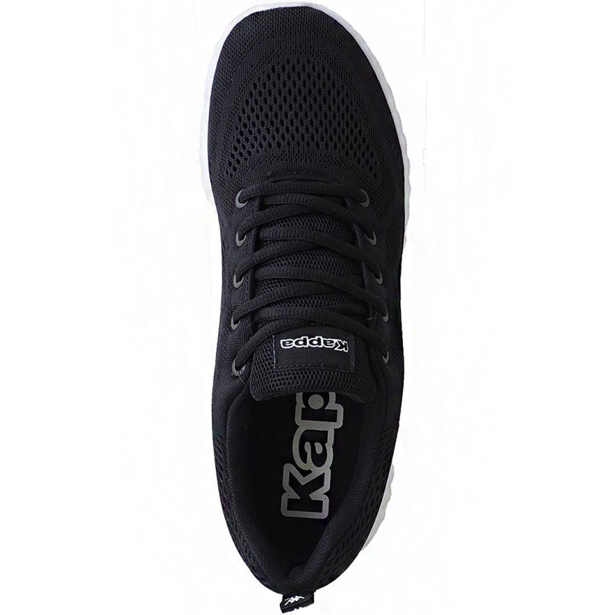 Buty Kappa Affel M 242750 1110 Czarne Black Shoes All Black Sneakers Shoes