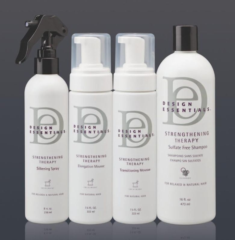 Design Essentials New Strengthening Therapy System No Conditioner Though Hmmm African American Shampoo Design Essentials Relaxed Hair