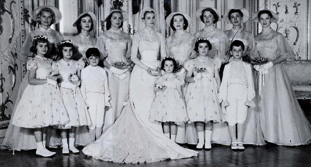 Another Royal Wedding The Dress Grace Kelly Wore Came